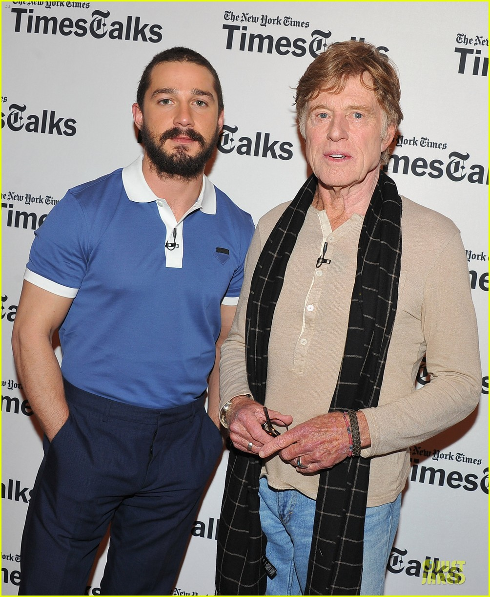 shia labeouf robert redford held my hand 022842334