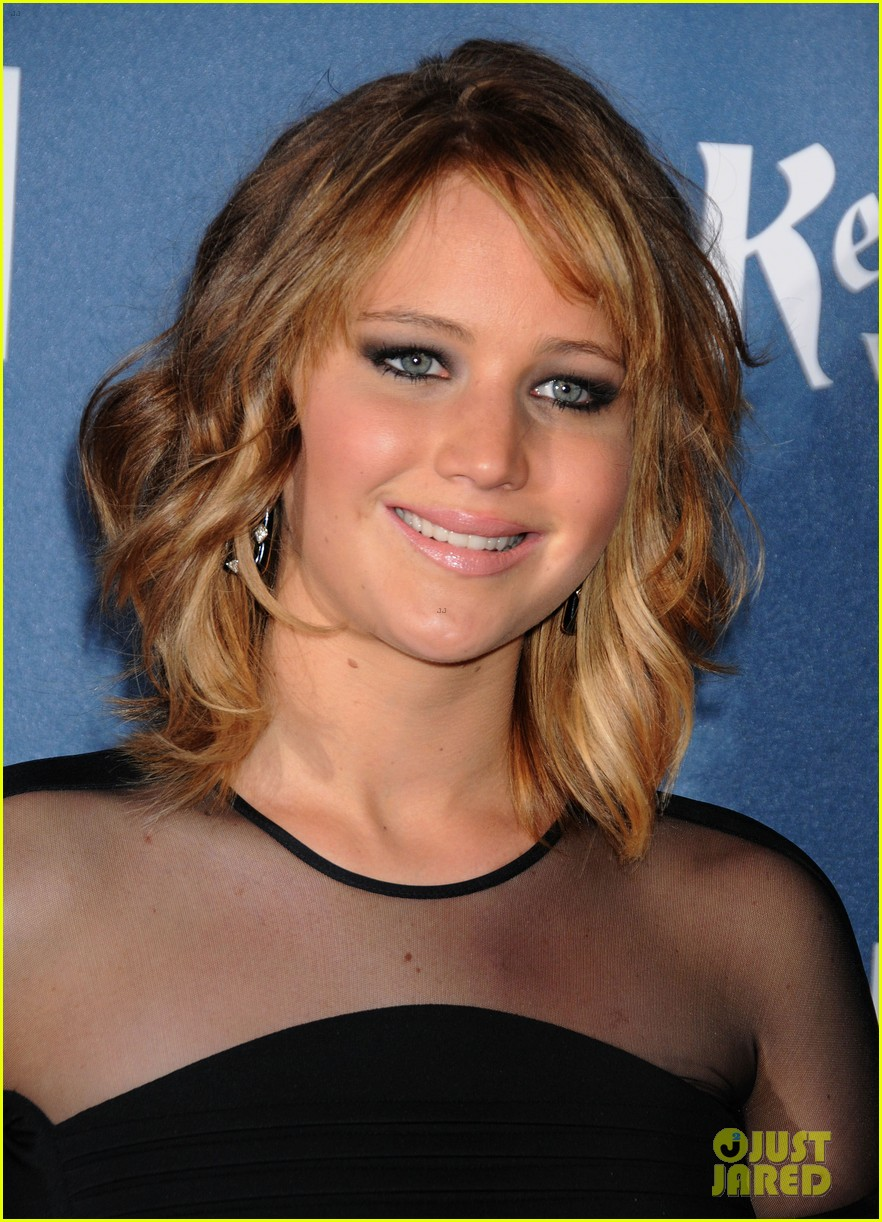 jennifer lawrence new short hair at glaad media awards 2013 14
