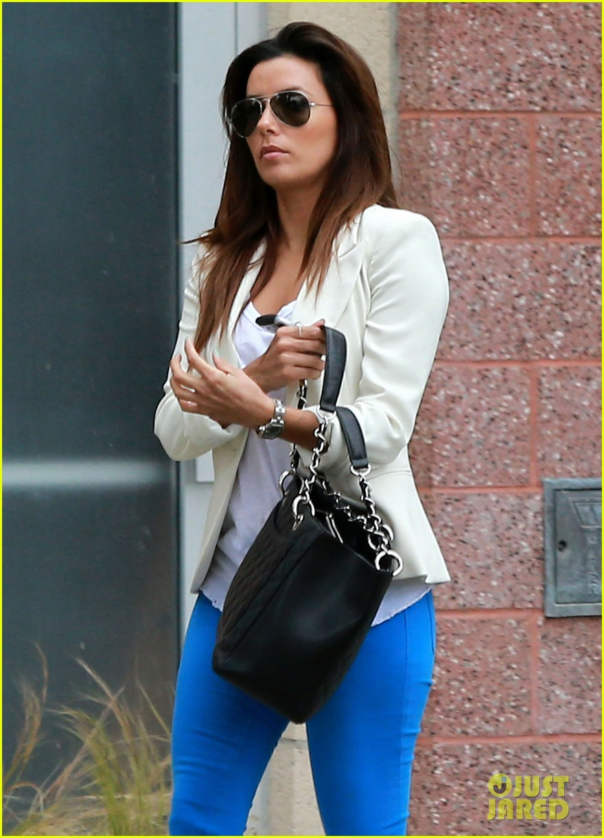 eva longoria errands before food chains fundraiser 18