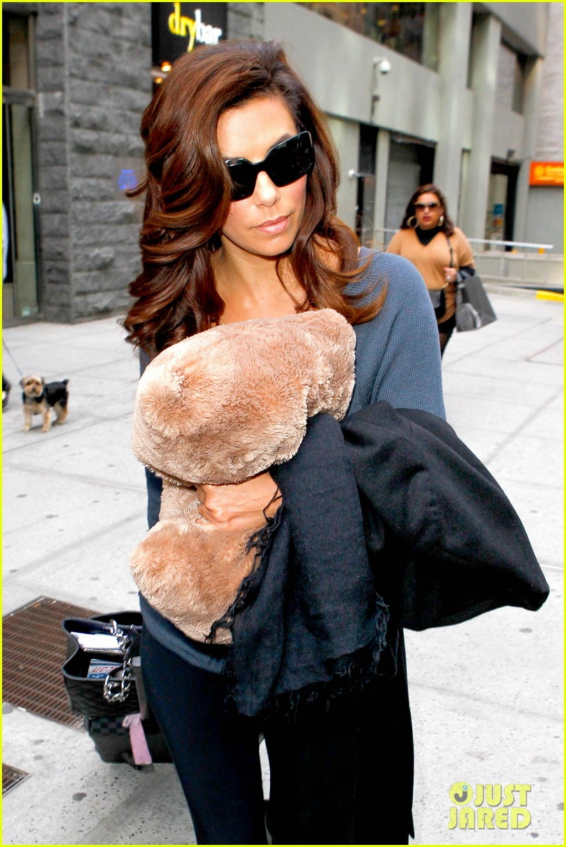 eva longoria morning show appearance in new york city 042845681