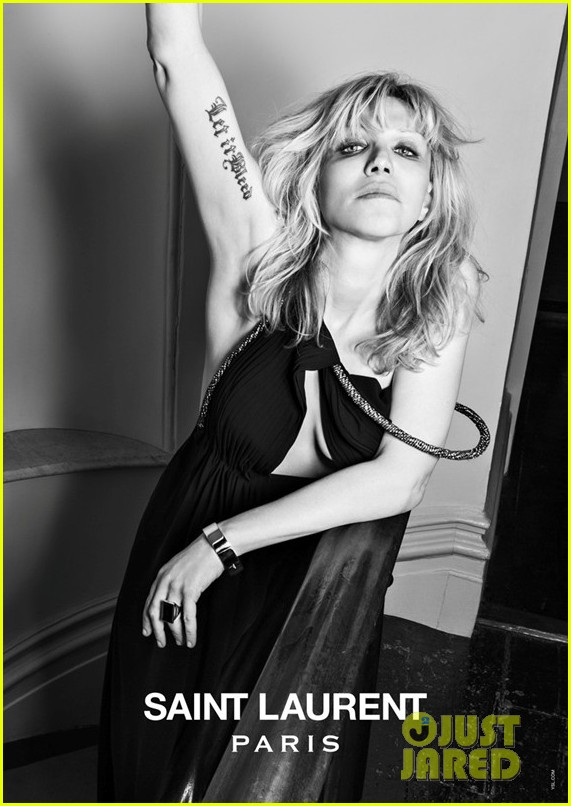 courtney love marilyn manson st laurent music project campaign 08