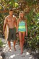 kellan lutz shirtless op campaign with bikini katrina bowden 11