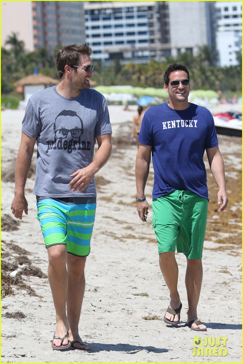 james marsden geoff stults nautica triahtlon in miami 112845651