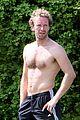 chris martin shirtless london workout 16