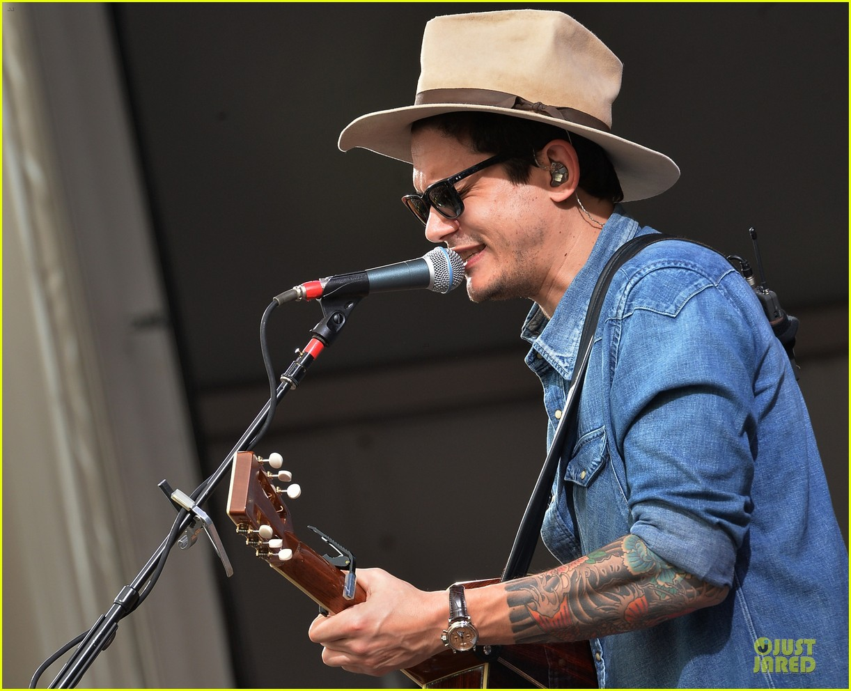 john mayer new orleans jazz heritage music festival 20