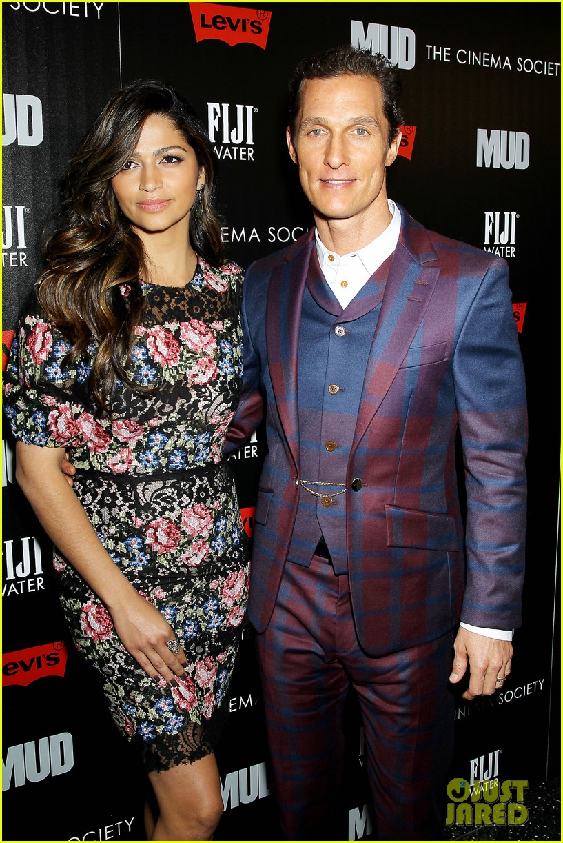 matthew mcconaughey mud screening with camila alves 072855219