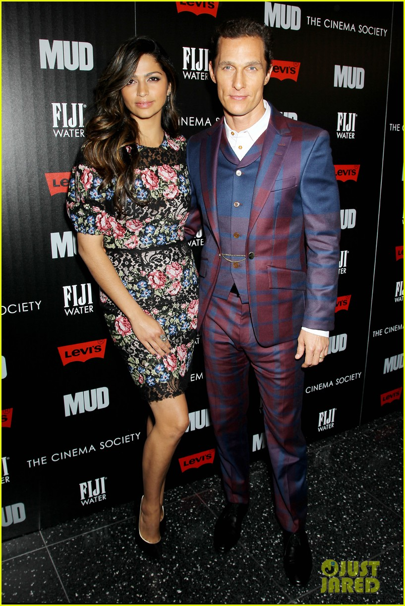 matthew mcconaughey mud screening with camila alves 11