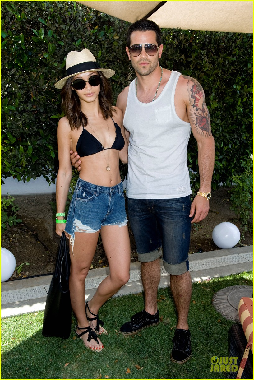 jesse metcalfe josh henderson justjared armani exchange music festival brunch 022848941