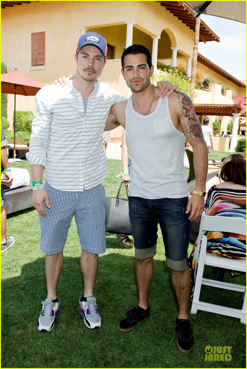 jesse metcalfe josh henderson justjared armani exchange music festival brunch 132848952