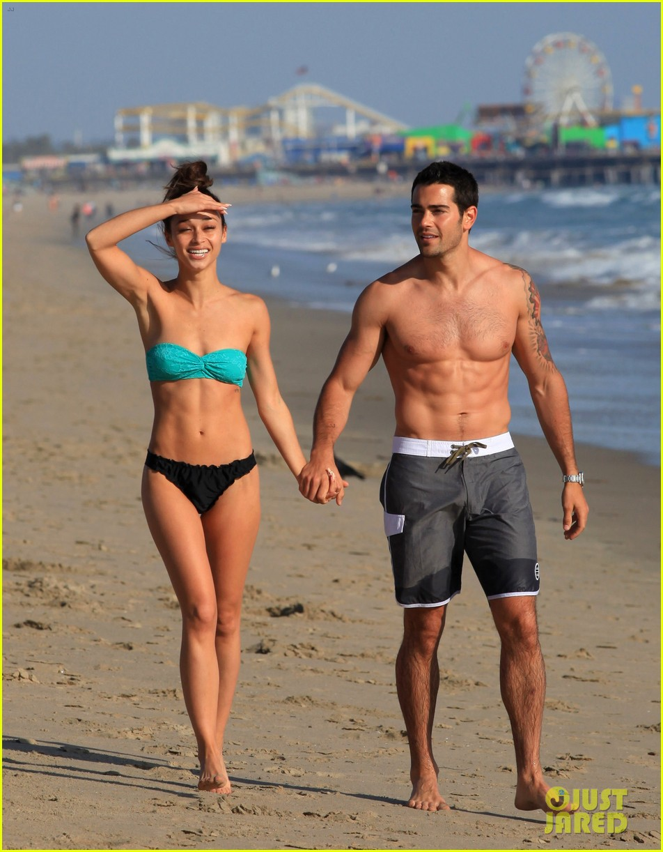 jesse metcalfe shirtless six pack beach stud 20