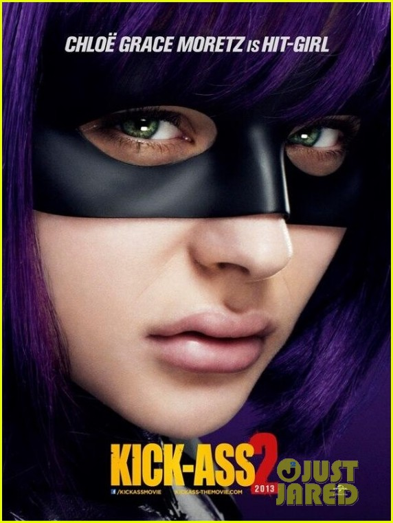chloe moretz aaron taylor johnson kick ass posters 012841314