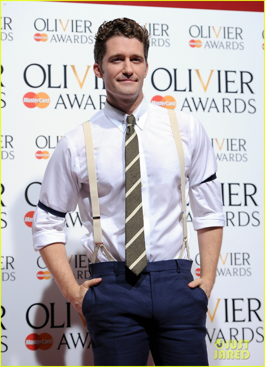 matthew morrison performs west side story at olivier awards 06