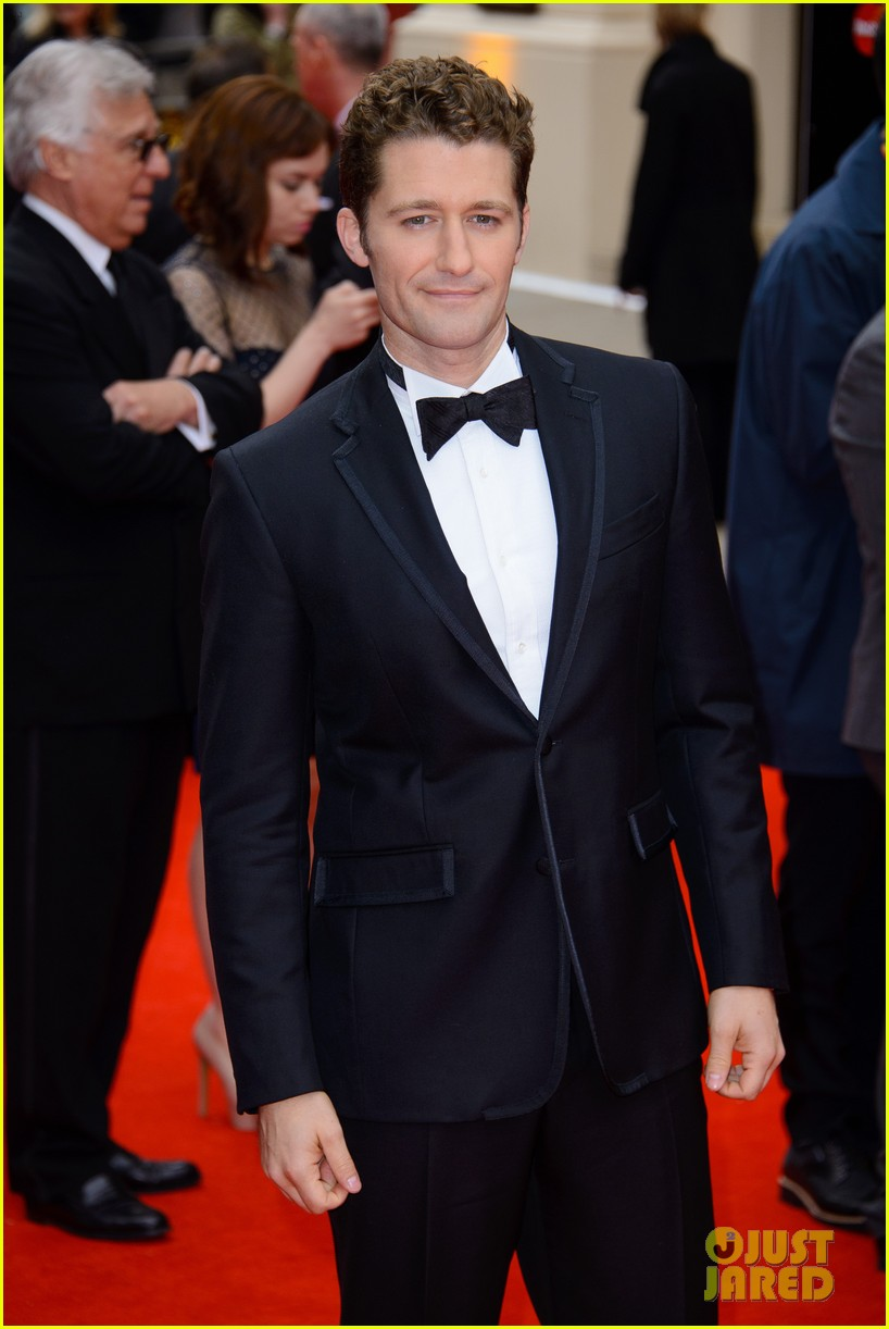 matthew morrison performs west side story at olivier awards 092860423