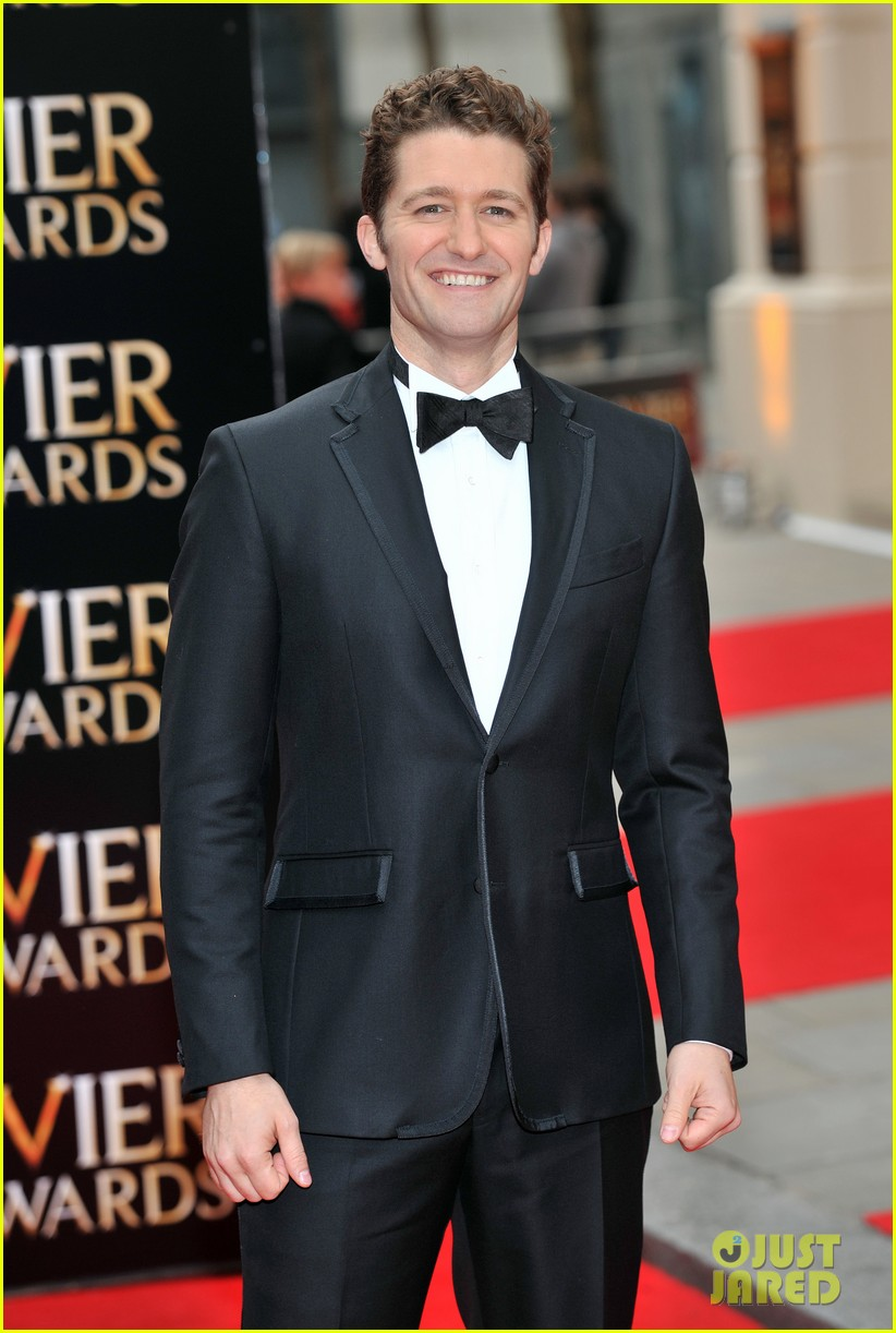 matthew morrison performs west side story at olivier awards 12