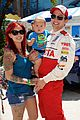 nikki reed paul mcdonald toyota pro celebrity race couple 09