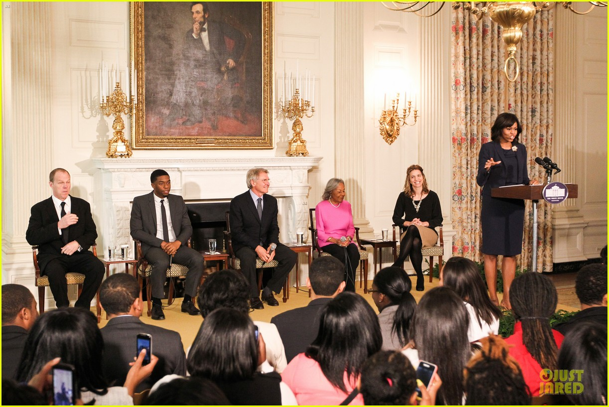 michelle obama im tripping out on harrison ford 01