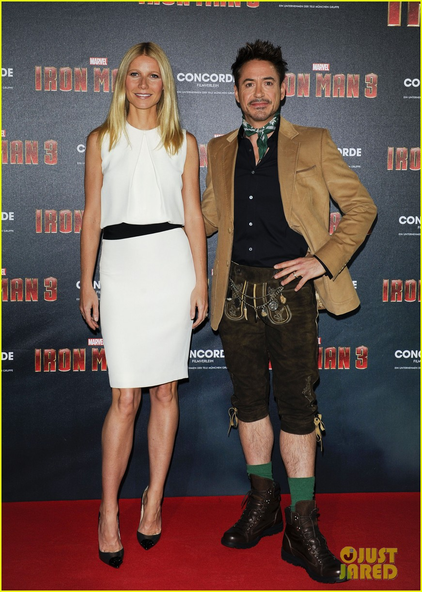 gwyneth paltrow robert downey jr iron man 3 germany photo call 292848173