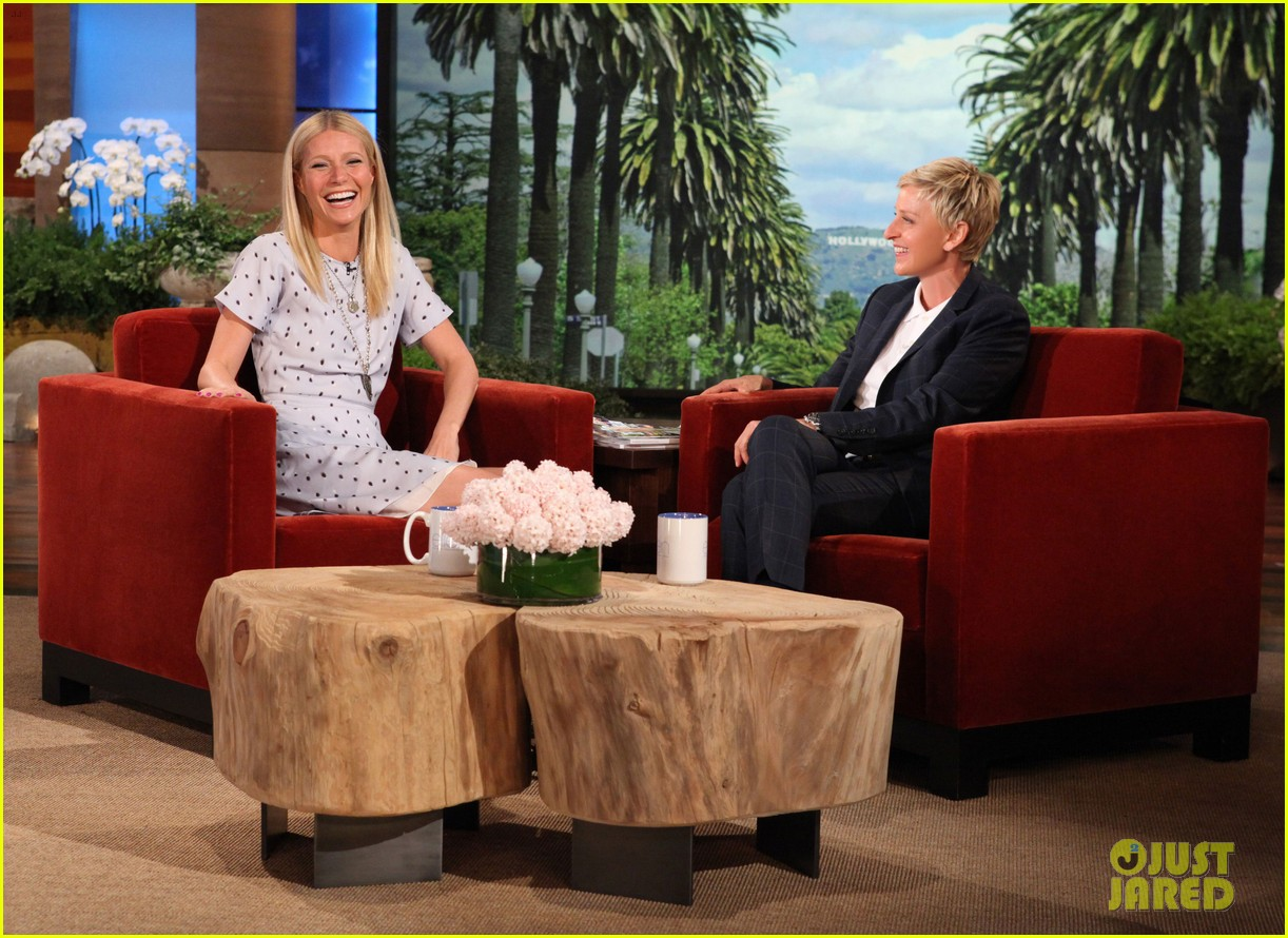 gwyneth paltrow most beautiful woman ceremony on ellen 022858449