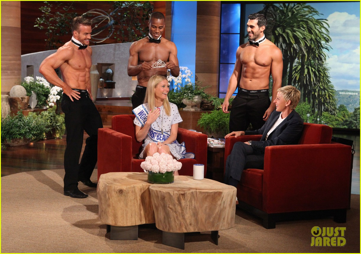 gwyneth paltrow most beautiful woman ceremony on ellen 03