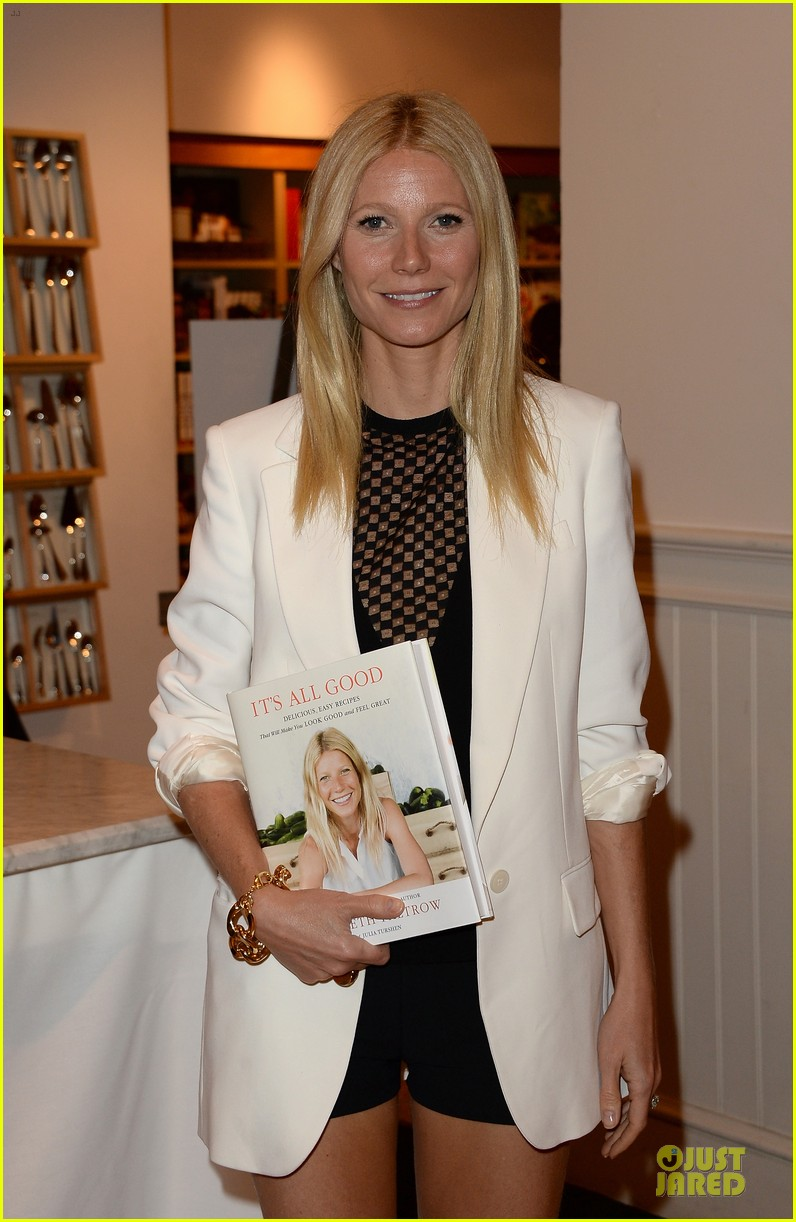 gwyneth paltrow my family came to book signing for the grove 13