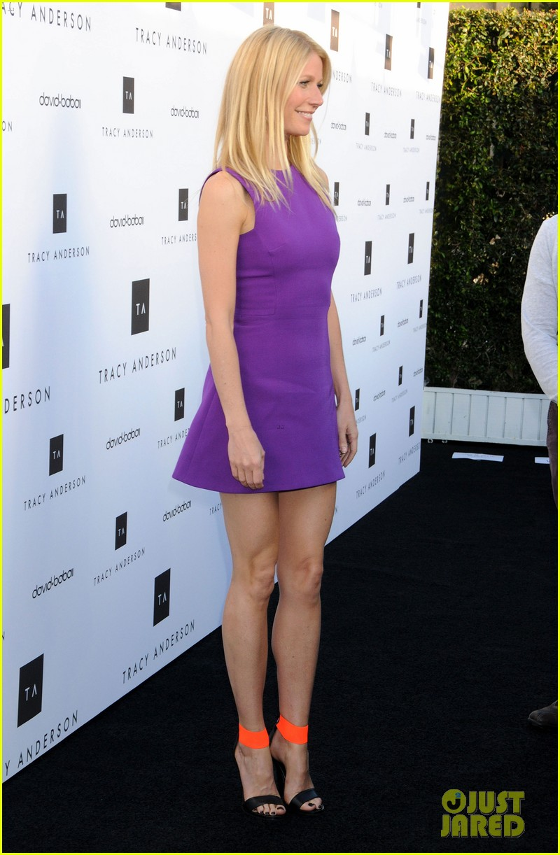 gwyneth paltrow tracy anderson studio opening 08