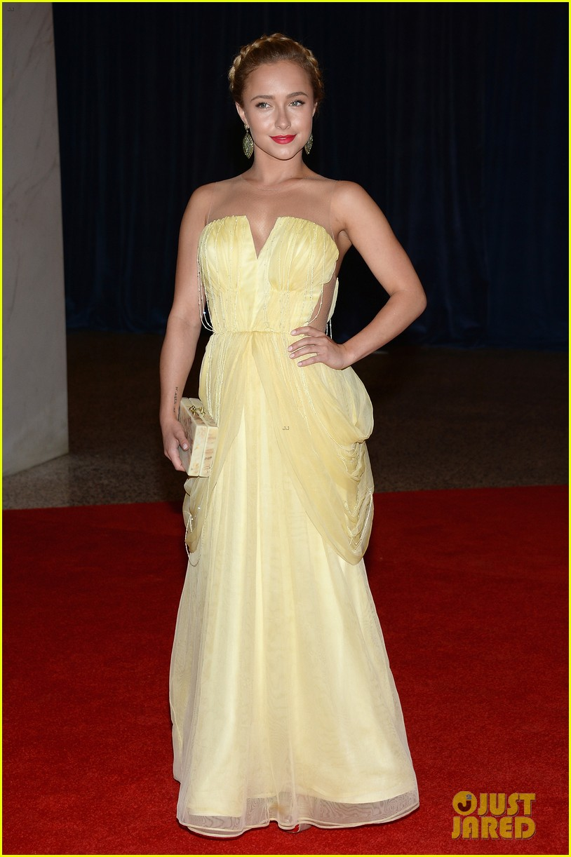 hayden panettiere white house correspondents dinner 2013 red carpet 052859523