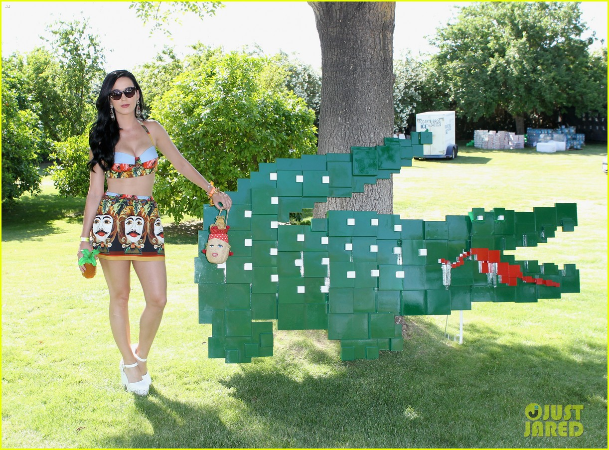katy perry rita ora lacoste live pool party at coachella 23