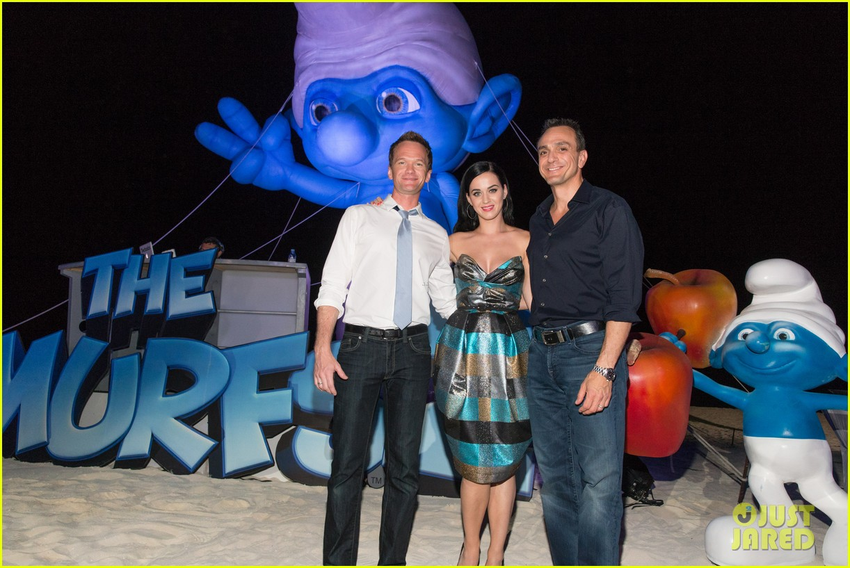 katy perry smurfs 2 summer of sony party 052856584