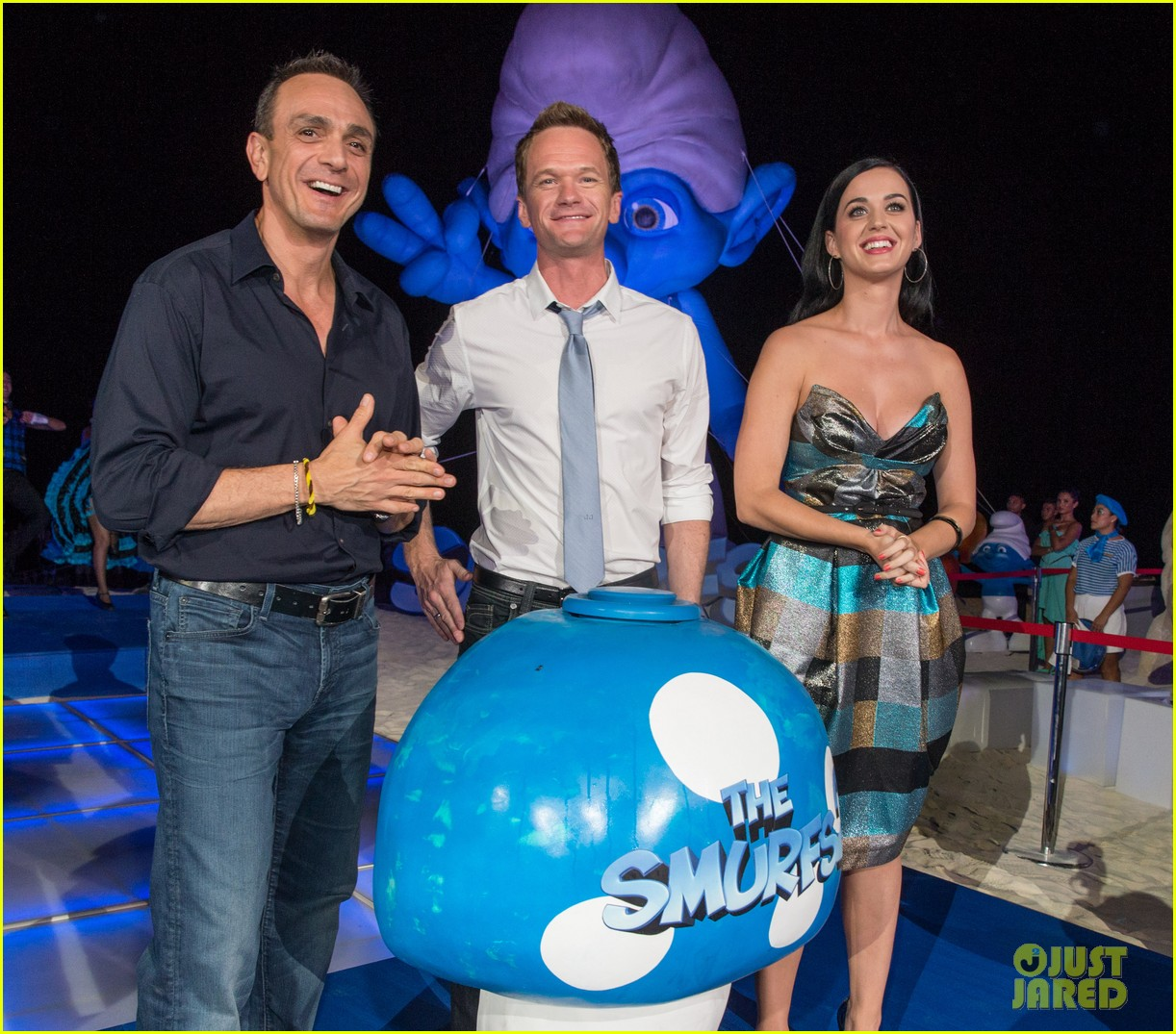 katy perry smurfs 2 summer of sony party 102856589