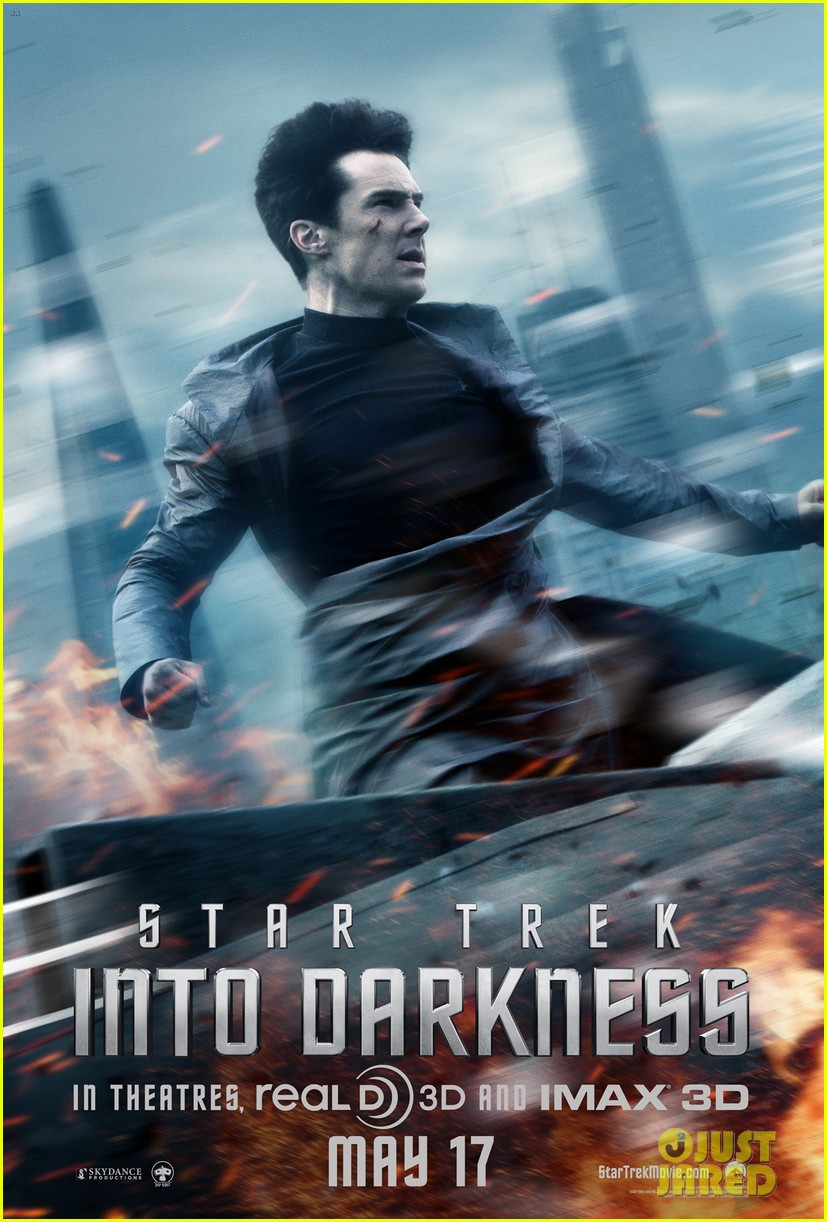 chris pine star trek into darkness trailer posters 01
