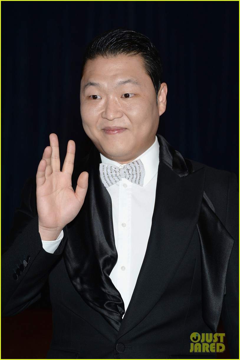 psy white house correspondents dinner 2013 04