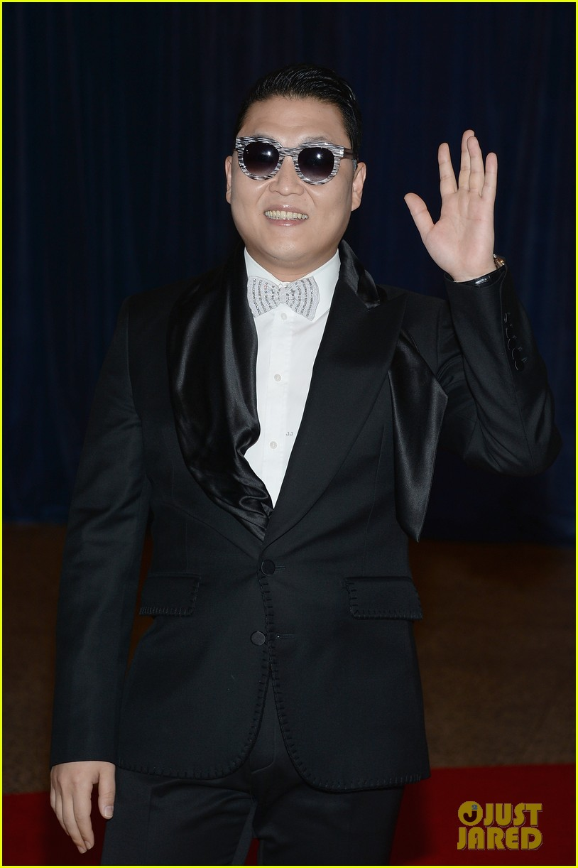 psy white house correspondents dinner 2013 05