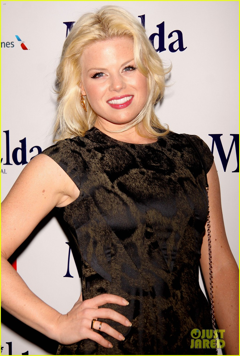 zachary quinto megan hilty matilda opening night 19