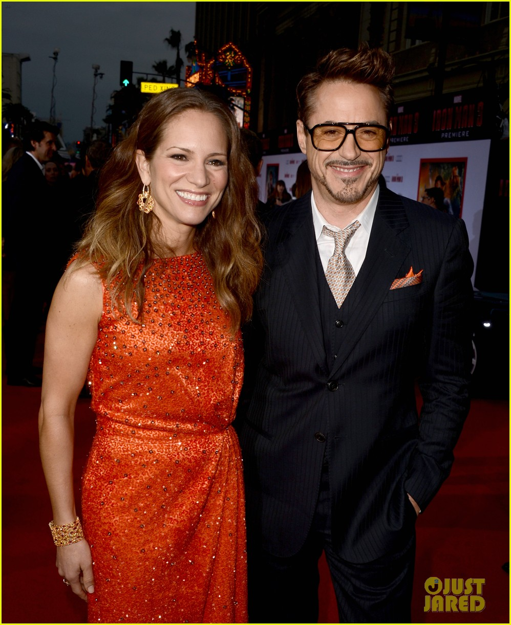 robert downey jr guy pearce iron man 3 premiere 022857567