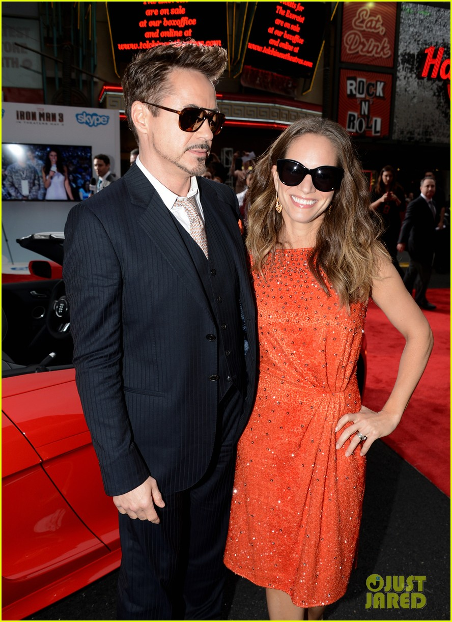 robert downey jr guy pearce iron man 3 premiere 182857583