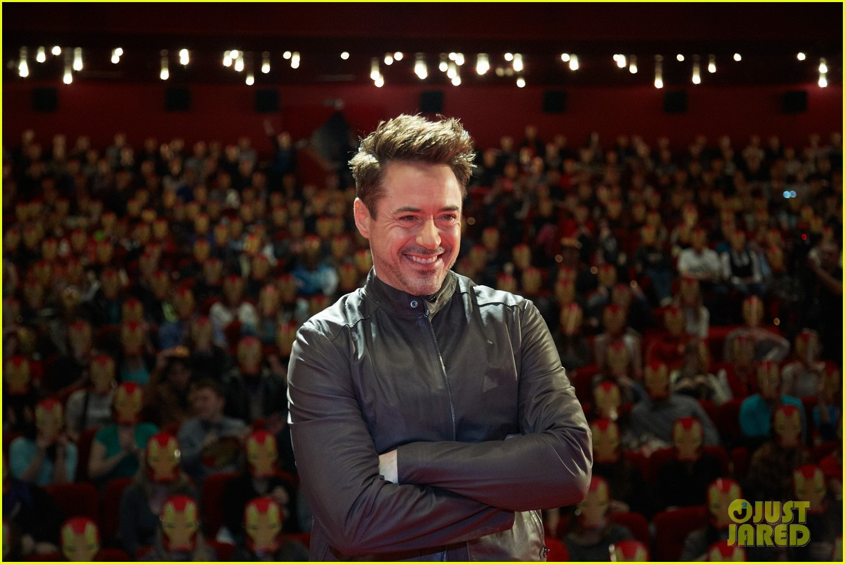 robert downey jr iron man 3 premiere press conference 022846968