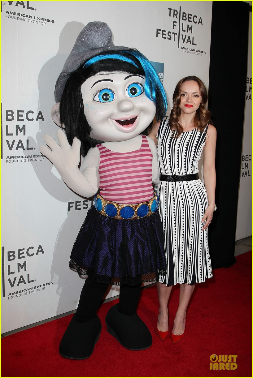 christina ricci the smurfs tribeca screening 142859403