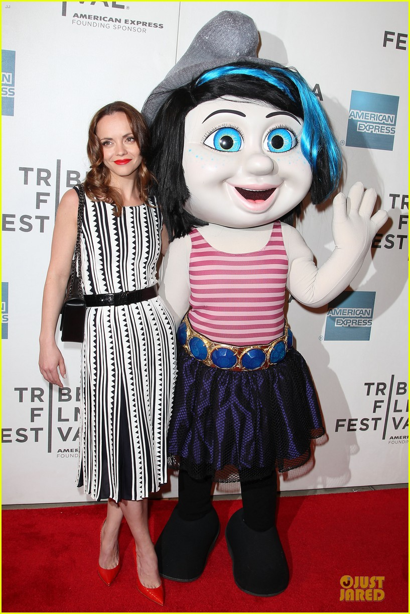 christina ricci the smurfs tribeca screening 17