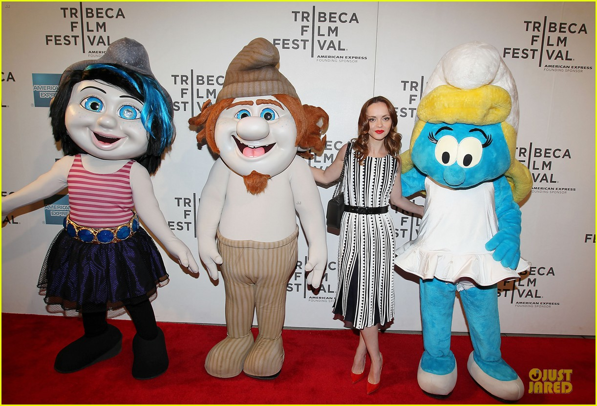 christina ricci the smurfs tribeca screening 23