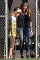 leann rimes jakes baseball game with mason 03