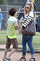 leann rimes jakes baseball game with mason 19