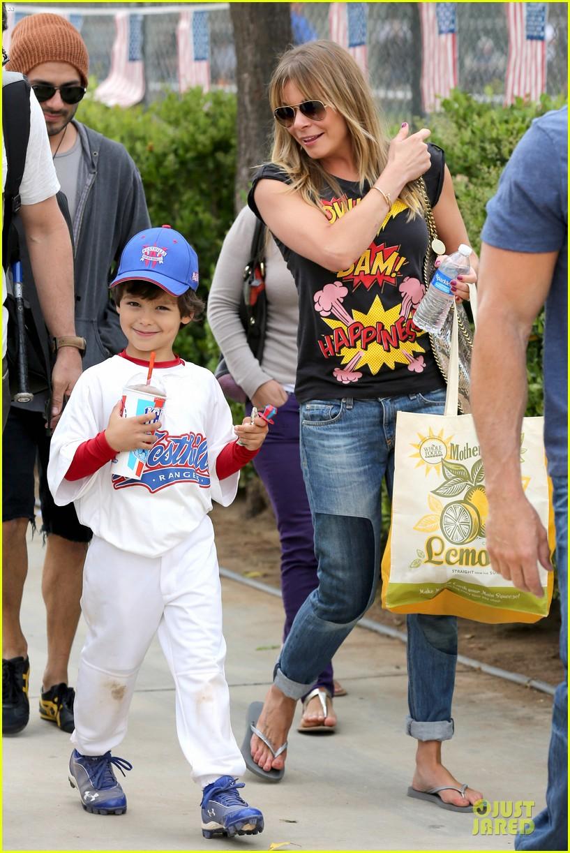 leann rimes eddie cibrian jake baseball game before birthday party 16