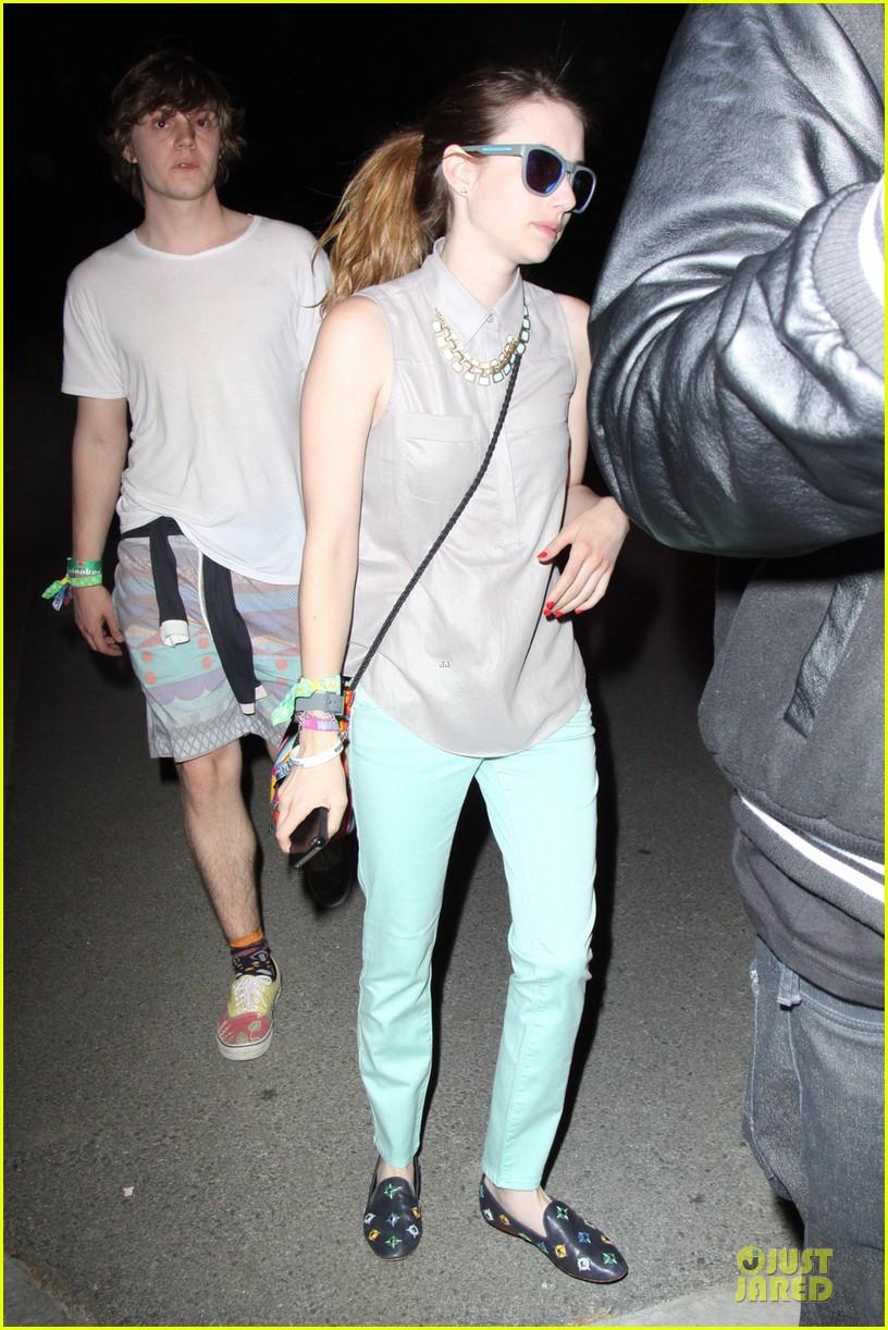 emma roberts neon carnival slide rider 01