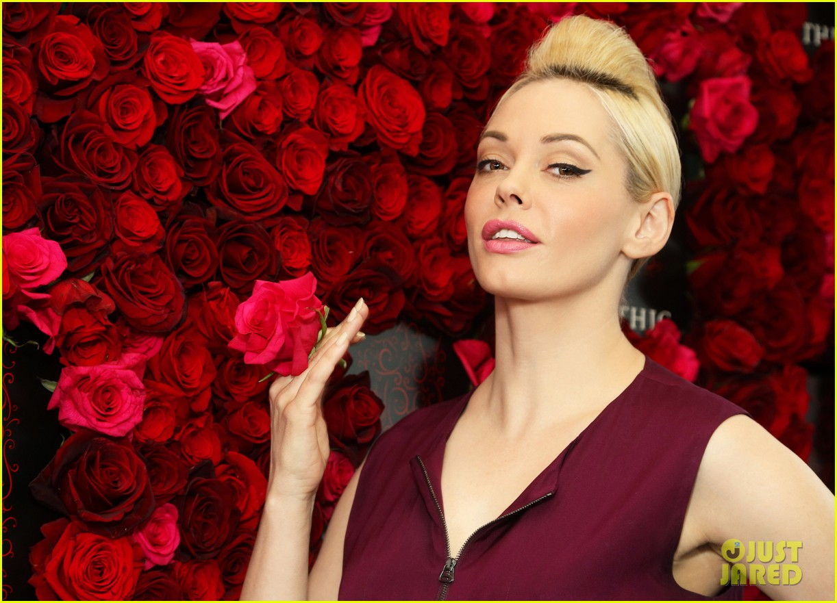 rose mcgowan apothic rose launch in nyc 132857887