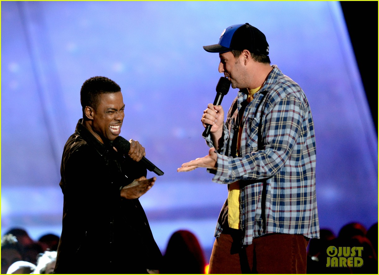 adam sandler chris rock mtv movie awards 2013 02