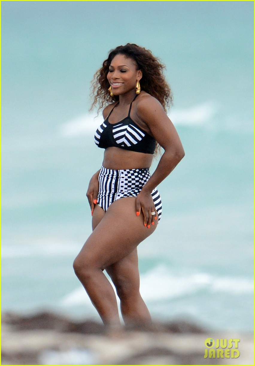 serena williams bikini beach photo shoot 142851337