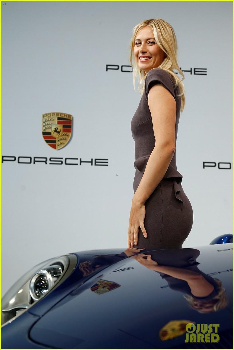 maria sharapova porsche new brand ambassador 112855786