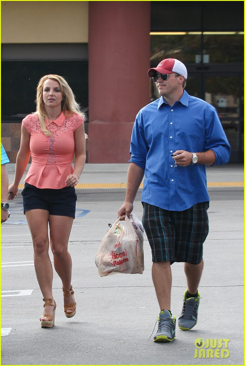 britney spears david lucado saturday ralphs run 232849534