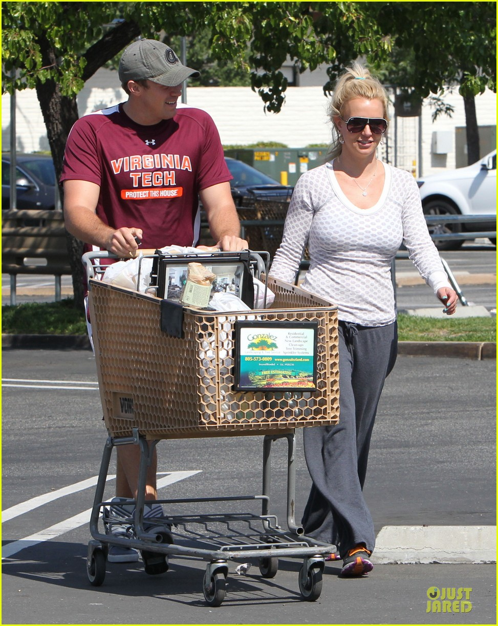 britney spears vons grocery shopping 03