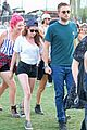 kristen stewart robert pattinson holding hands at coachella day two 15